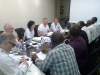 CILTNig & Int'l Council in a meeting (2nd Left row, Dr. Dorothy Chan, CILT Int'l President)