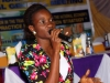 A contestant from FUTO during the debate for the President's Award @ d AGM