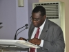 Deputy President, CILT Nig, Prof. Kayode Oyesiku, FCILT making his speeach @ the Forum