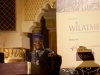 Founder & Global Convener of WiLAT, Hajia Aisha Ibrahim making a speech during d WiLAT Dinner @ d ICM