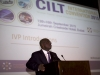 Nat'l President, CILT Nig & IVP for Africa & Chair, Africa Forum, Maj Gen UT Usman (Rtd) making his speech @ Int'l Convention