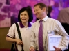 R-L- Immediate past President, CILT, Int'l, Dr. Dorothy Chan & SG, CILT, Int'l, Mr. Keith Newton during d WiLAT Conference @ d ICM