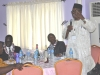 Amb. Dr. Odemwingie giving a speech during the event