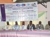 Dignitaries on the high table during the AGM