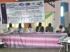 Dignitries on the high table at the AGM