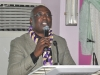 Dr. Ekwuribe Bob, FCILT, Vice President (East), CILT Nig delivering his Speech at the event.