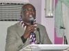 Dr. Ekwuribe Bob, FCILT, Vice President (East), CILT Nig delivering his Speech at the event.