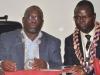 Mr. Ibrahim A. Jibril FCILT, the newly National President and Deputy National President, Alban Igwe Esq FCILT at the 2016 AGM