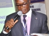 Mr. Paul Ndibe FCILT, the Ag National Executive Director giving his speech at the 2016 AGM of CILT, Nigeria