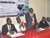 Prof. Kayode Oyesiku (fmr National Deputy President) delivering the Welcome Address