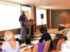 Hajia Aisha Ali Ibrahim, WiLAT Global Convenor delivering her speech