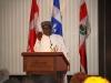 Rt Hon Chibuike Amaechi, Hon. Min. of Transportation & Patron, CILT, Nig delivering his Goodwill message