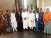 3rd L- CILT National President, Mr. Ibrahim Jibril, the Executive Secretary-CEO of Nigerian Shippers' Council, Mr. Hassan Bello, staff of Nigerian Shippers' Council & CILT Nig Council members