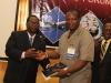 Presentation of Corporate Membership plaque to Transport & Logistics Nig Ltd