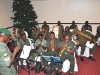 Nigerian Army Band entertaining guests