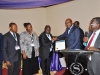 Presentation of award to 1st Class Auto Services Limited