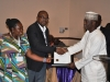 Presentation of award to ABC Transport Plc