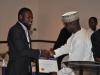 Presentation of award to Greener Line Transport Limited