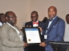 Presentation of award to Maritime Academy og Nigeria, Oron