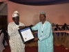 Presentation of award to Maritime Reporters' Ass. of Nigeria (MARAN)
