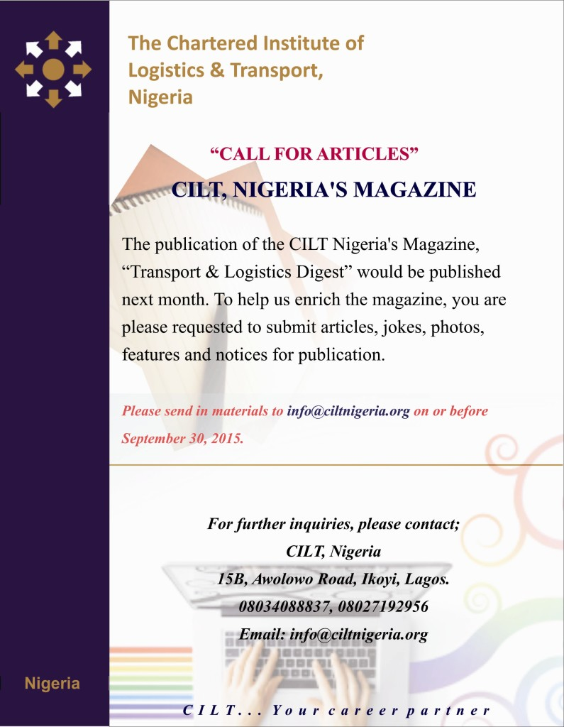 Call for Articles - August Publication