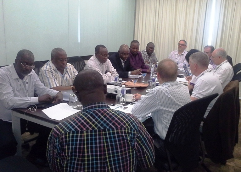 CILTN Council & Int'l Council members in a meeting