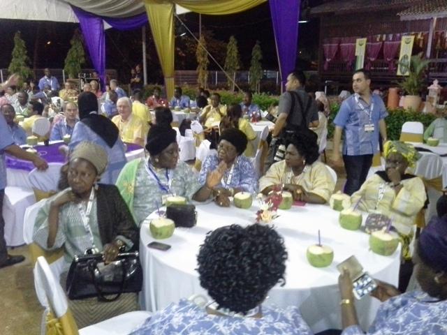 Delegates @ d dinner