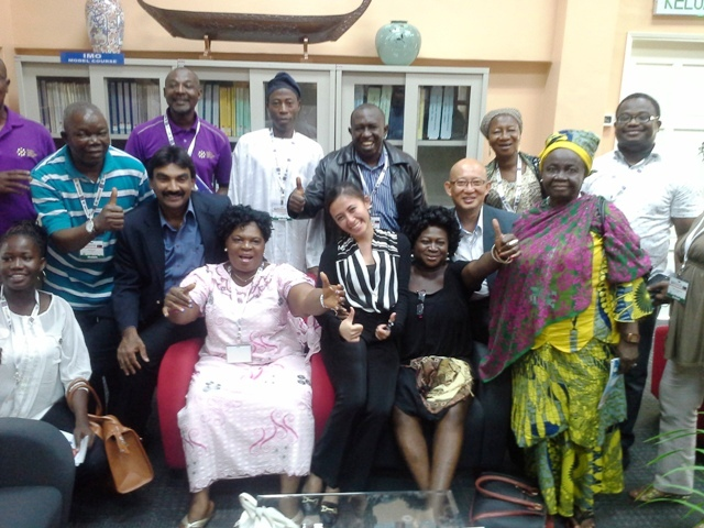 Int'l & delegates from CILT Nigeria