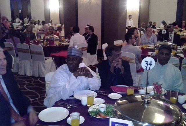Nat'l President, CILT Nig Maj Gen UT Usman (Rtd) & other delegates