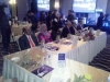 Dignitaries on d high table