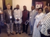 Rep of d Gov of Plateau state, Mr. Yakubu Jang (2nd L), Perm Sec MOT, Plateau, Mr. Sunday Choji & other delegates @ d Convention
