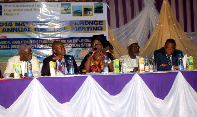 Dignitaries on the high table