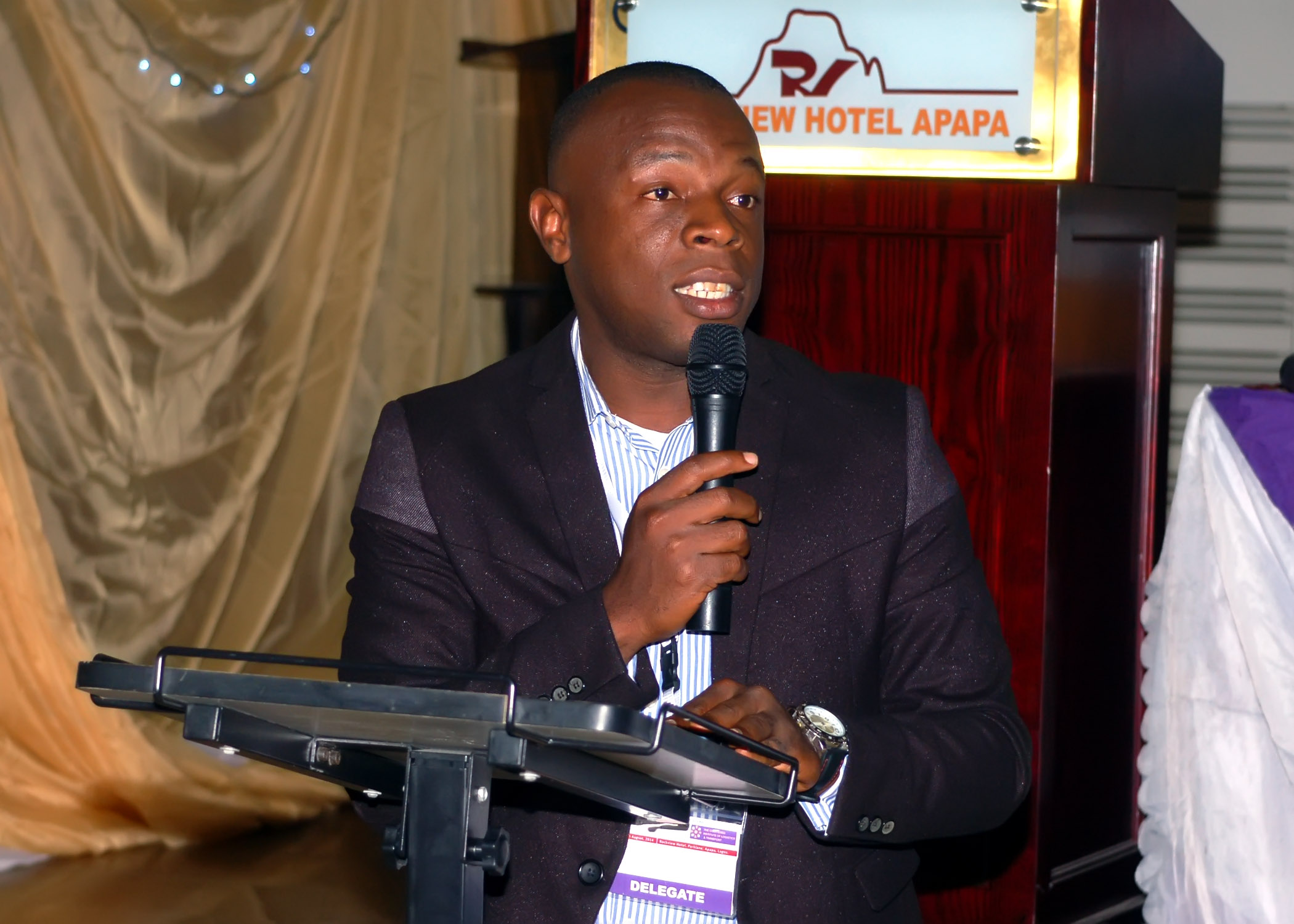 MC @ the conference