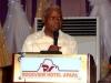Dr. Viashima delivering the Hon Min. of Transport's speech @ d Conference