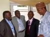 Dy President, Prof. Kayode Oyesiku (2nd L), Chairman, Zaria Branch, Dr. Odumosu (L) & other participants