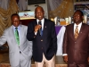 Maj Gen UT Usman (Rtd), Nat'l President (middle), Mr. Francis Ehiguese, FCILT (NED, CILT) & Dr. KT Gbadamosi, FCILT Chairman, PDC