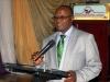 Mr. Francis Ehiguese (NED, CILT) addressing d delegates