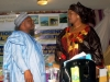 Mr. Ibrahim Jibril, IVP & Mrs. Dabney Shal-Holma rep of the ES-CEO, NSC in a discussion