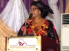 Mrs. Dabney Shal-Holma, Director, Shipping Dev of NSC delivering d lecture of d ES-CEO, NSC