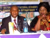 Prof. C. C. Ibeh, Chairman of d occasion & Mrs. Dabney Shal-Holma, Rep of d ES-CEO, Nig Shippers' Council @ d high table