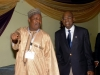 R-L- Maj Gen UT Usman, FCILT Nat'l President, CILT Nigeria & Alh. Aminu Yusuf (VP, North) CILT Nigeria