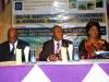 R-L- Mrs. Dabney Shal-Holma, Prof. C. C. Ibe (Chairman of d program) & Maj Gen UT Usman (Rtd), Nat'l President, CILT Nig @ d high table