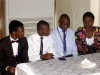 The contestants for the Nat'l President's Award @ d AGM