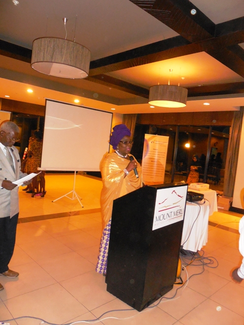 Hajia Aisha Ali-Ibrahim, FCILT (Global Convener, WiLAT) making a speech
