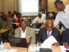 Front row (middle) - National President, CILTN, Maj Gen UT Usman (Rtd), FCILT, Deputy Nat'l President, Prof. Kayode Oyesiku, FCILT (L) & other delegates @ d Forum