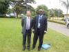 Sec. Gen. Mr. Keith Newton & Mr. Paul Ndibe (Deputy Director, Finance & Admin, CILTN) @ the Forum