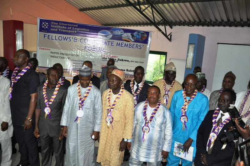 Cross section of Chartered Fellows FCILT before the oath of membership