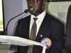 Dr. Usman Gidado, FCILT (Council Member, CILTN) making a speech @ the Forum
