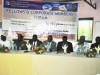 The National President & other dignitaries @ d high table