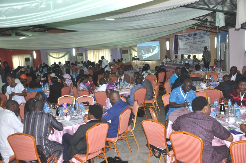 Cross section of delegates during the AGM